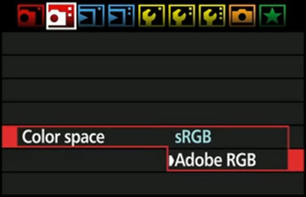 e8a66eb1c40 Fotograferen in sRGB is slechts één kleine aanpassing in je  camerainstellingmenu
